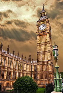 house of commons clock tower, sometimes called big ben by meirion matthias