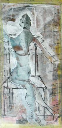 Frau, sitzend von Edgar Piel