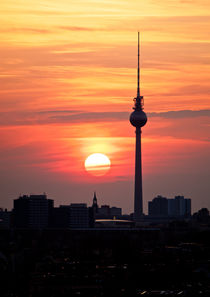 Berlin Sundown One by Florian Beyer