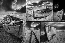 montage of boat wrecks von meirion matthias