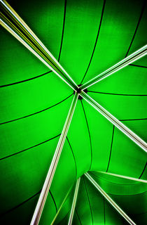 abstract of green by meirion matthias