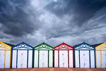 yarmouth beach huts von meirion matthias