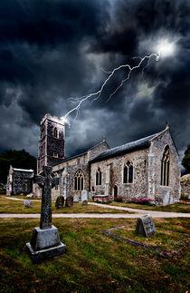 Church-lightning-strike