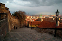 The Steps to Prague Castle von serenityphotography