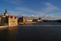 View Upstream from Charles Bridge by serenityphotography