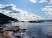 View from Ingarö Beach  by Sarah Osterman