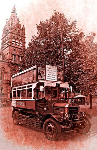 Vintage-omnibus