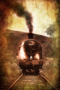 steam engine 5643 by meirion matthias