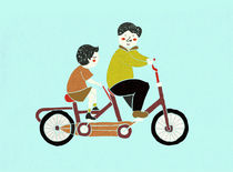 Biking by Monica Andino