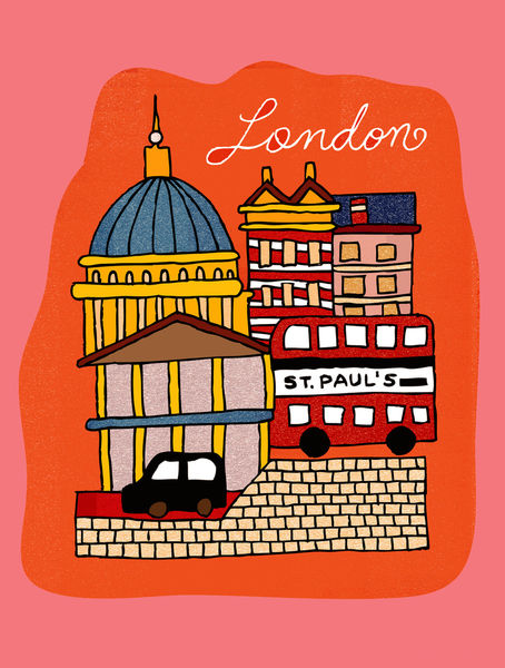 London-print