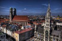 Munich Skyline von Doug Graham