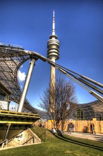 Olympic Park - Olympiapark von Doug Graham