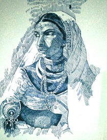 folk lady von Ekta Godhwani Yadav