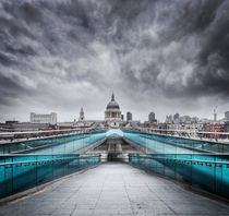 Millenium Bridge, London by Martin Williams