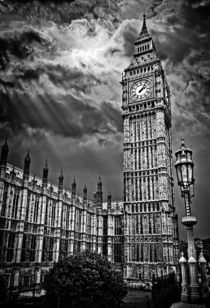 house of commons clock tower or big ben by meirion matthias