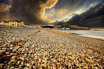 the beach at llandudno by meirion matthias