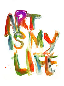 Art is My Life von Marco Angeles