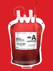 Blood Type - Awesome von Marco Angeles