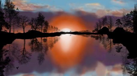 Sunset-silhouette