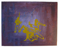 Capoeira Trio Yellow von Nadine Nehls