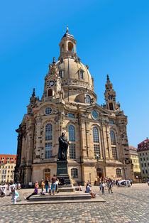 Frauenkirche Dresden by Uli Gnoth