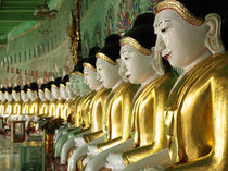 Buddha Row by Nina Papiorek