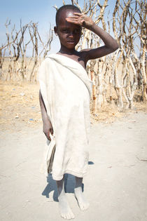 Young Maasai/ kilimajaro area  von Maritza Leiva