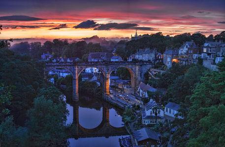 Knaresborough-sunset