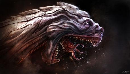 Dragon-death-luca-nemolato-2011