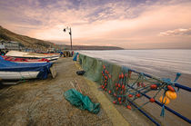 Coble Landing Filey by John Hare