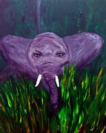 African Elephant von Angela Pari Dominic Chumroo