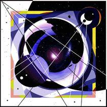 Sternkarte abstrakt. von Bernd Vagt