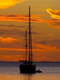 Sonnenuntergang Charlotteville, Tobago von Veit Schuetz