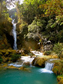 Kuang Si Wasserfall, Luang Prabang, Laos von Veit Schuetz