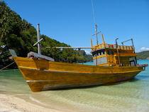 Fischerboot, Thailand by Veit Schuetz