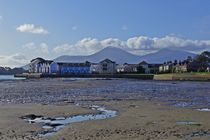 Dundrum Bay and the Mourne Mountains by John McCoubrey
