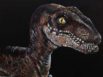 Velociraptor (Clever Girl) von Kristin Frenzel