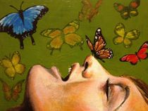 Butterfly Garden by Kristin Frenzel