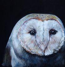 Dark Barn Owl von Kristin Frenzel