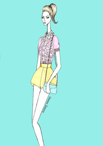 Fashion illustration by Vanessa Datorre