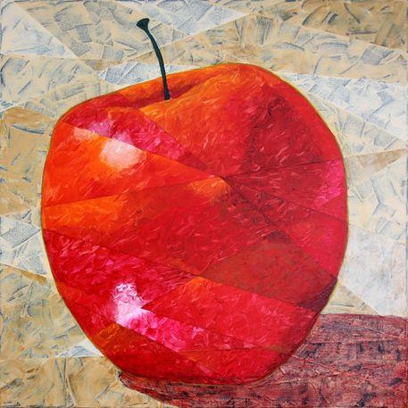 Apfelabstrakt