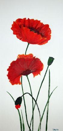 Zwei Mohnblumen von Lidija Kämpf