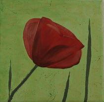 Mohnblume 3 by Lidija Kämpf