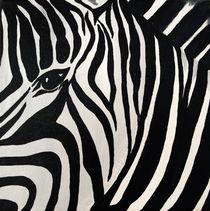 Zebra von Lidija Kämpf