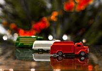 Toy trucks by József Lörincz