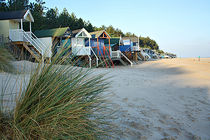 Beach Huts von sandra cockayne