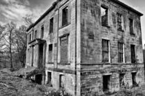 Plean Country House ruins by Buster Brown Photography