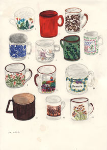 13 Cups by Angela Dalinger