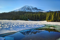 Mount Rainier reflection von northwest-scenescapes
