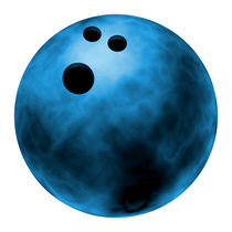 Bowling ball by William Rossin